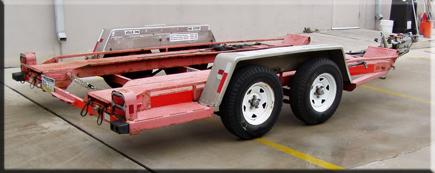 1996 U-Haul® Manufactured Heavy Duty Car Trailer